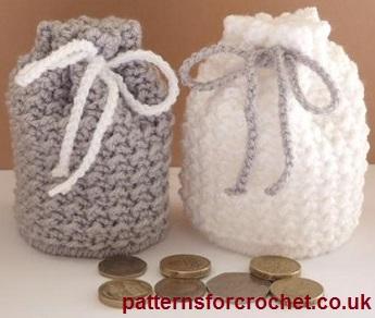 Free Crochet Pattern Coin Pouch Usa