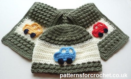 Free crochet pattern hat and scarf usa e6e095fd667