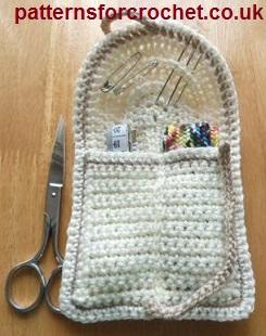 Crochet Stitches Uk Htr : Free crochet pattern a handy sewing kit USA
