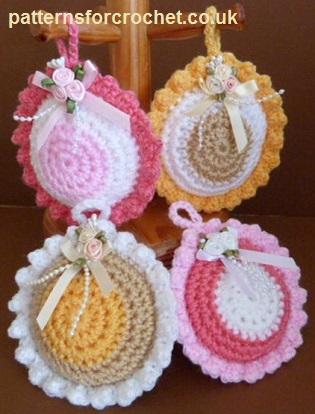 Free Crochet Pattern Scented Sachet Usa