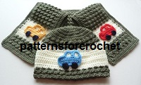 Child's Hat and Scarf USA