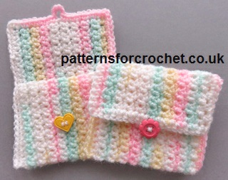 Free crochet pattern small purse usa dt1010fo