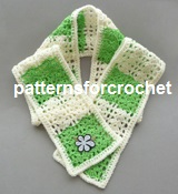 Shell Stitch Scarf USA