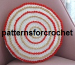 Round cushion cover USA